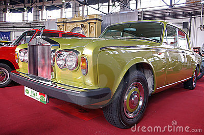 Renovated Rolls Royce Silver Shadow Editorial Stock Image