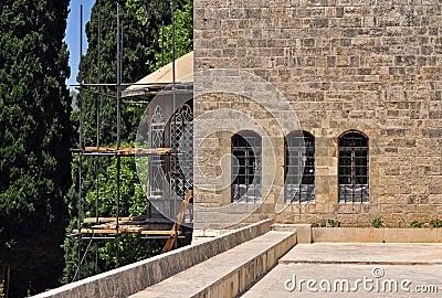 Renovating a palace