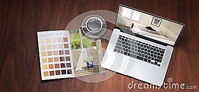 Renovation Computer Colour Design