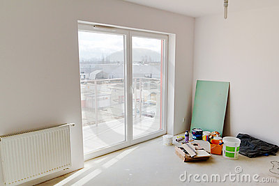 Renovation of new apartment