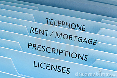 Rent Mortgage Files