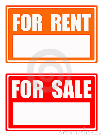 For rent / for sale