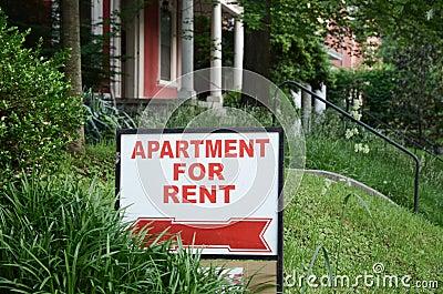 rental sign stock photo image 72084332. Black Bedroom Furniture Sets. Home Design Ideas