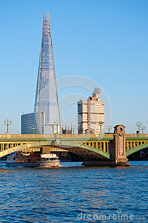 The Shard in London 2013 Editorial Image