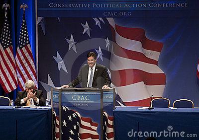 Rep. Raul Labrador at CPAC 2011 Editorial Photo