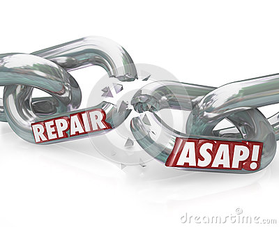 Repair ASAP Breaking Chain Links