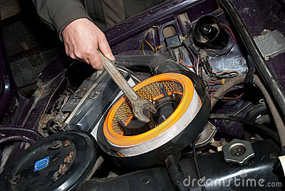 Repair of the car