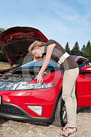 Repair the car