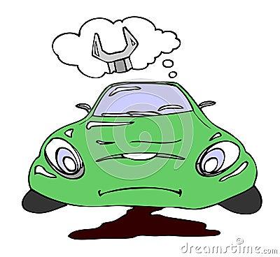 Repair a car