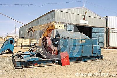 Repair of drilling equipment.
