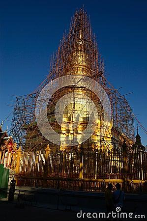 Repair gold temple