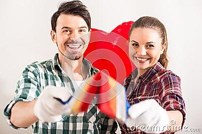 Repair home Stock Photo