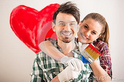 Repair home Stock Photo
