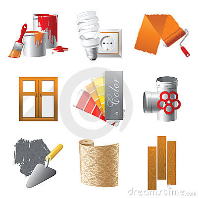 Free Repair Icons Royalty Free Stock Image - 22552126