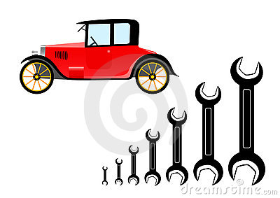 Repair of old car