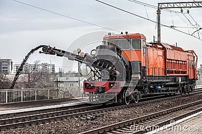 Repair of railway