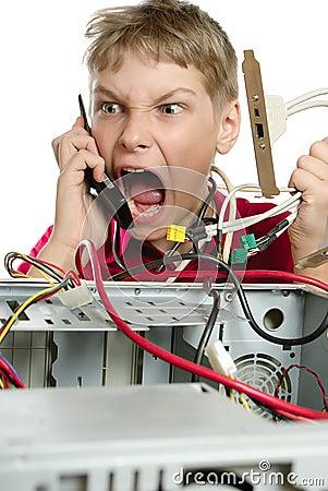 Repair your computer.