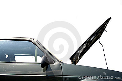 Repairing car