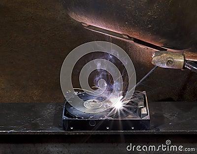 Repairing a defect hard disk