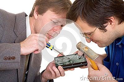 Repairing the disk