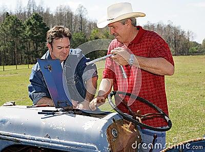 Repairing Farm Equipment