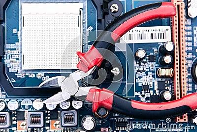 Reparación y mantenimiento del ordenador