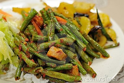 Repas réglé de végétarien en bonne santé