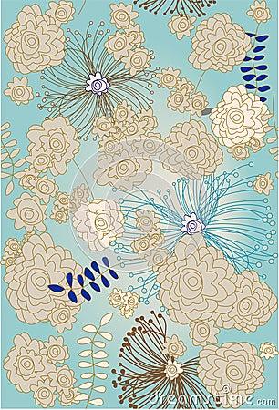 Repeat floral sample
