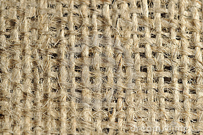 Repeatable burlap pattern