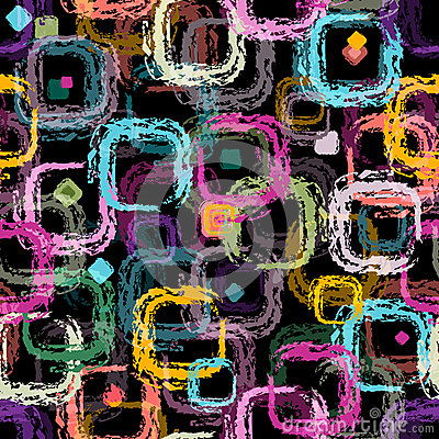 Free Repeating Black Pattern Stock Photography - 29517542