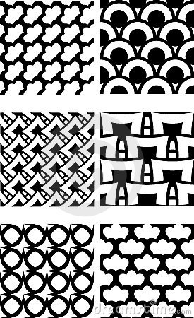 Repeating tile pattern