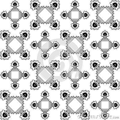 Repetitive monochromatic texture