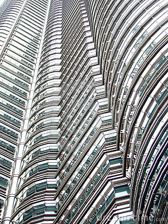 Free Repetitive Skyscraper Patterns Royalty Free Stock Photo - 3922845