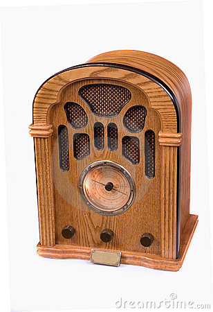 Replica of 1940 radio
