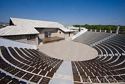 Replica of ancient theater