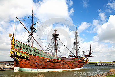 Replica of Dutch tall ship the Batavia