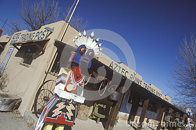 Replica of Kachina doll Editorial Stock Photo
