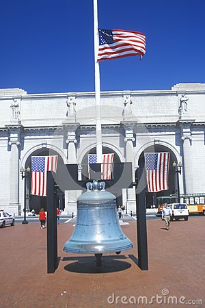 Replica of Liberty Bell Editorial Photography