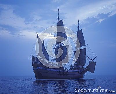 Replica of Mayflower Ship