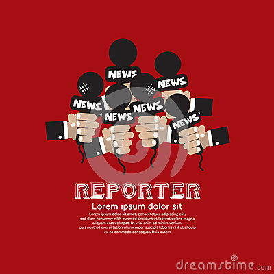 Reporter Concept.