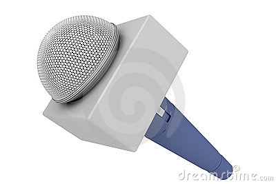 Reporter microphone