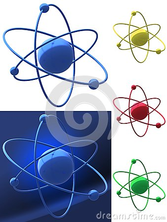 Representation of an atomic structure