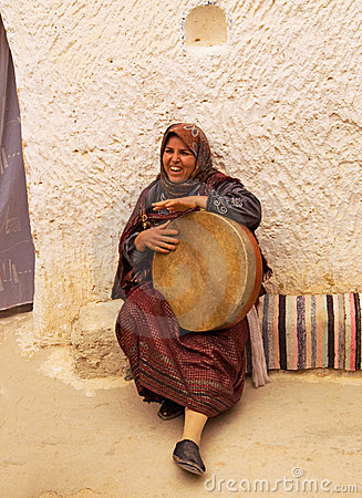 Representative of ancient Berber civilization Editorial Photo