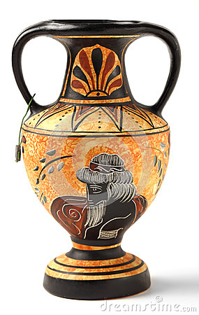 Reproduction Hellenistic amphora souvenir