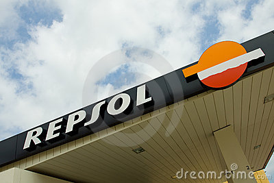 Repsol Filling Station Editorial Photography