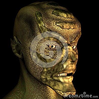 Reptile man