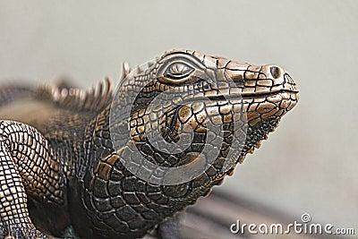 Reptile Statue