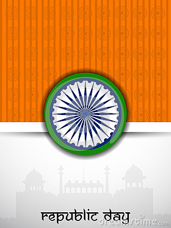 Republic Day background.