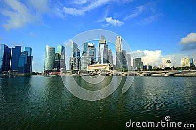 Republic of Singapore Editorial Image