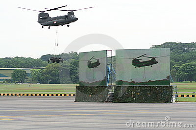 Republic of Singapore Air Force Open House 2011 Editorial Stock Photo